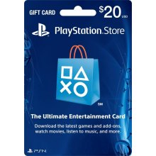 playstation GIFTCARD 20$