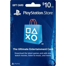 playstation GIFTCARD 10$