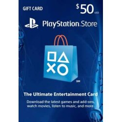 playstation GIFTCARD 50$