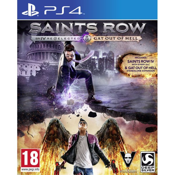 Saint row IV re-elected & gat outta hell pack