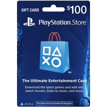 playstation GIFTCARD 100$