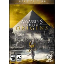 Assassins creed origins + the curse of the pharaohs (gold edition)