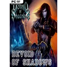Devoid of shadows